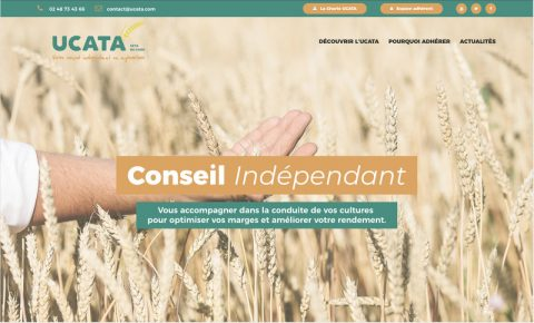 Lancement du nouveau site internet UCATA